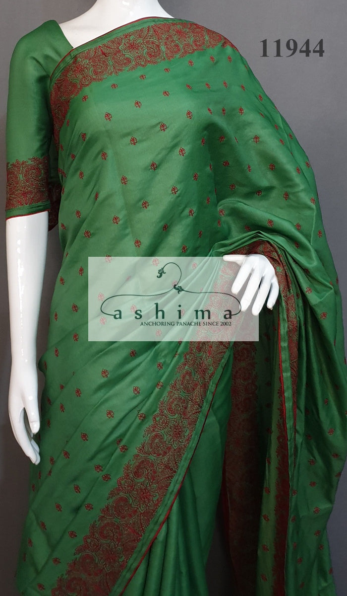 Semi Silk Saree 11944