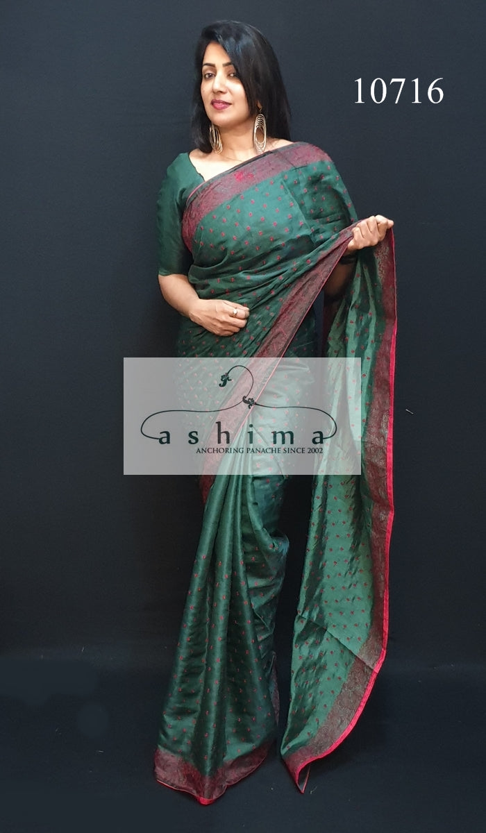 Semi silk saree 10716