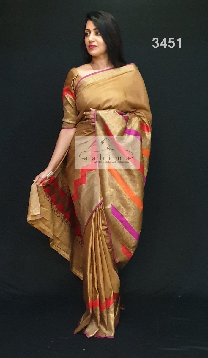 Banarasi silk Saree 3451