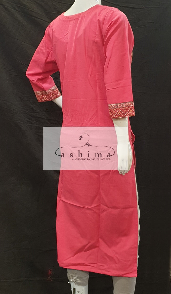 Cotton Kurti - Medium - Kurti 51