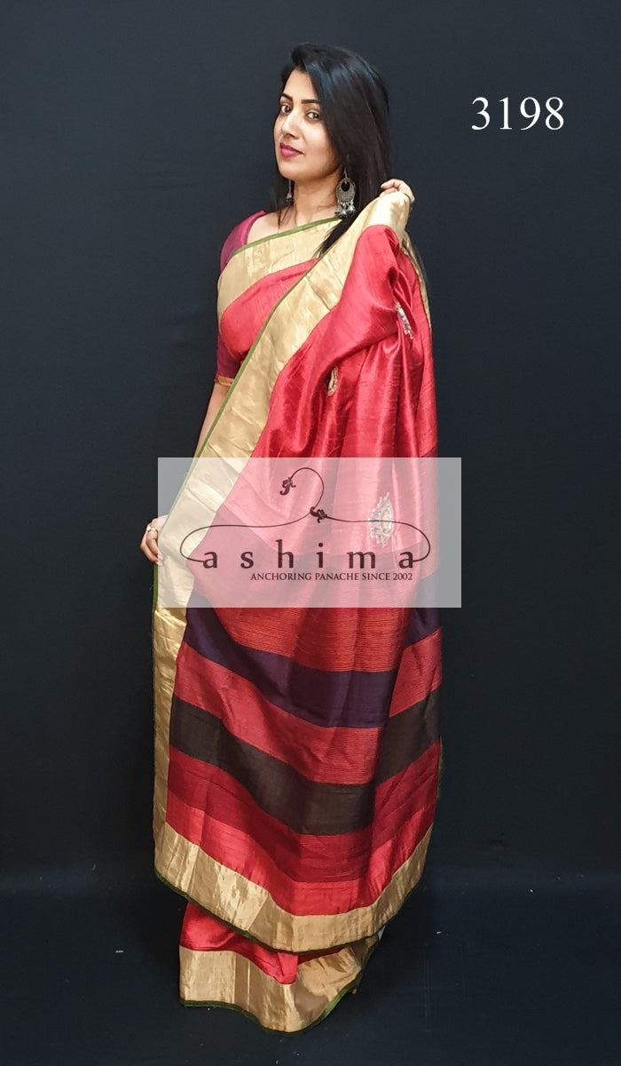 Designer Silk Saree 3198