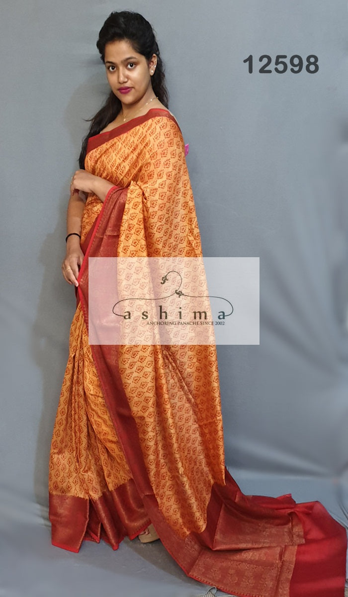 Chanderi saree 12598