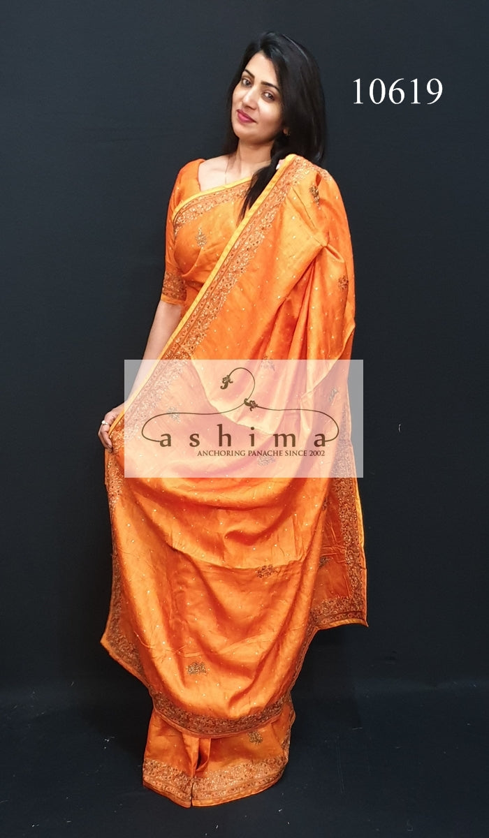 Tussar silk saree 10619