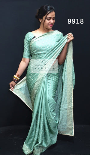 Semi Silk Saree 9918