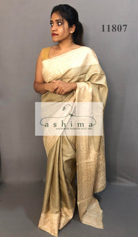 Tussar silk saree  11807