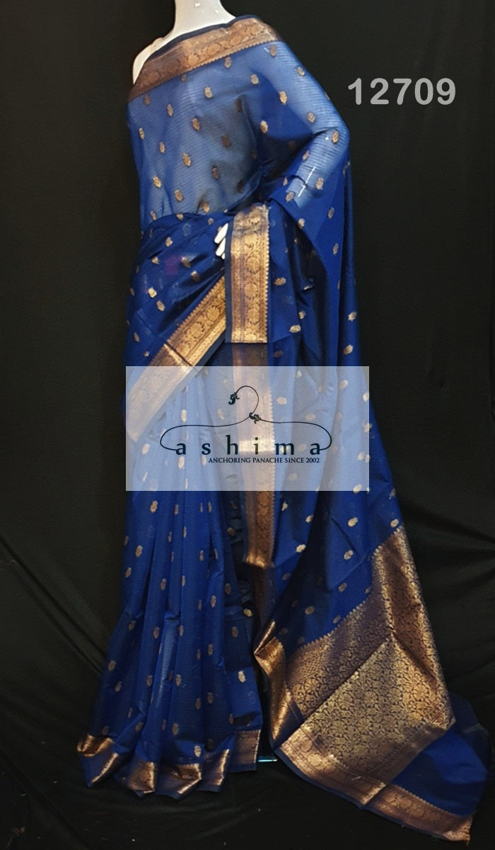 Semi banarsai saree 12709