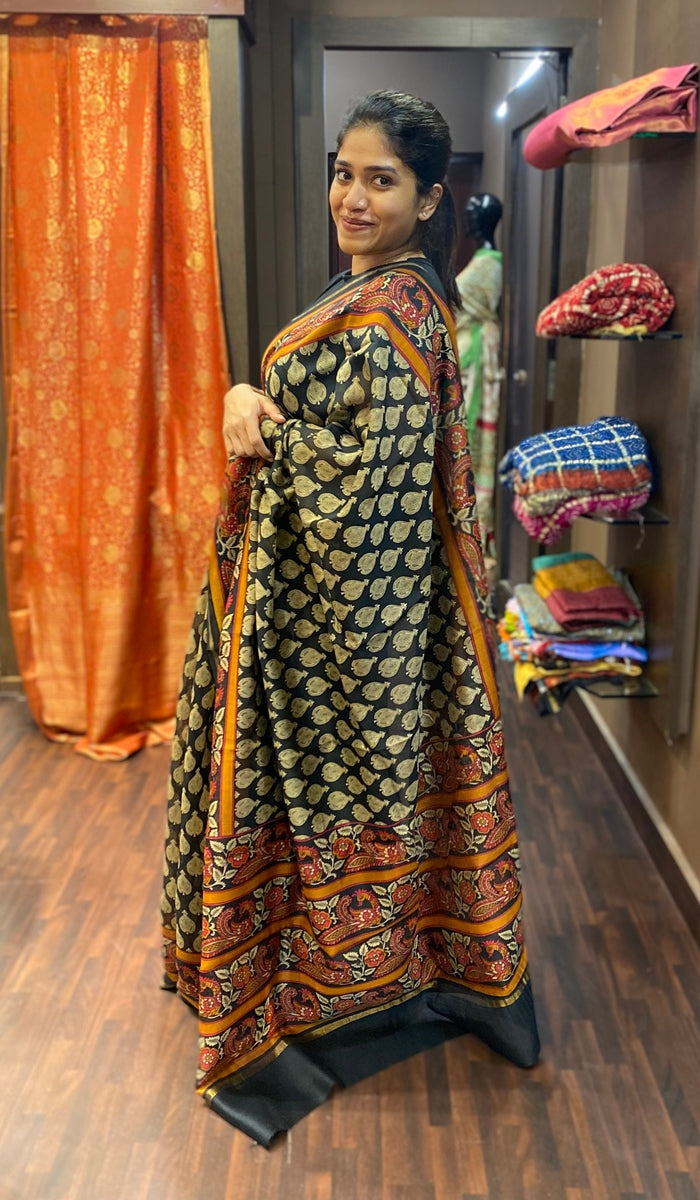Chanderi saree 13643