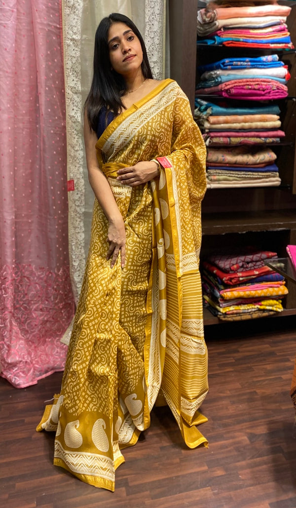 Chanderi saree 14260