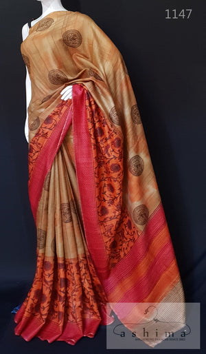Tussar Silk Saree 1147