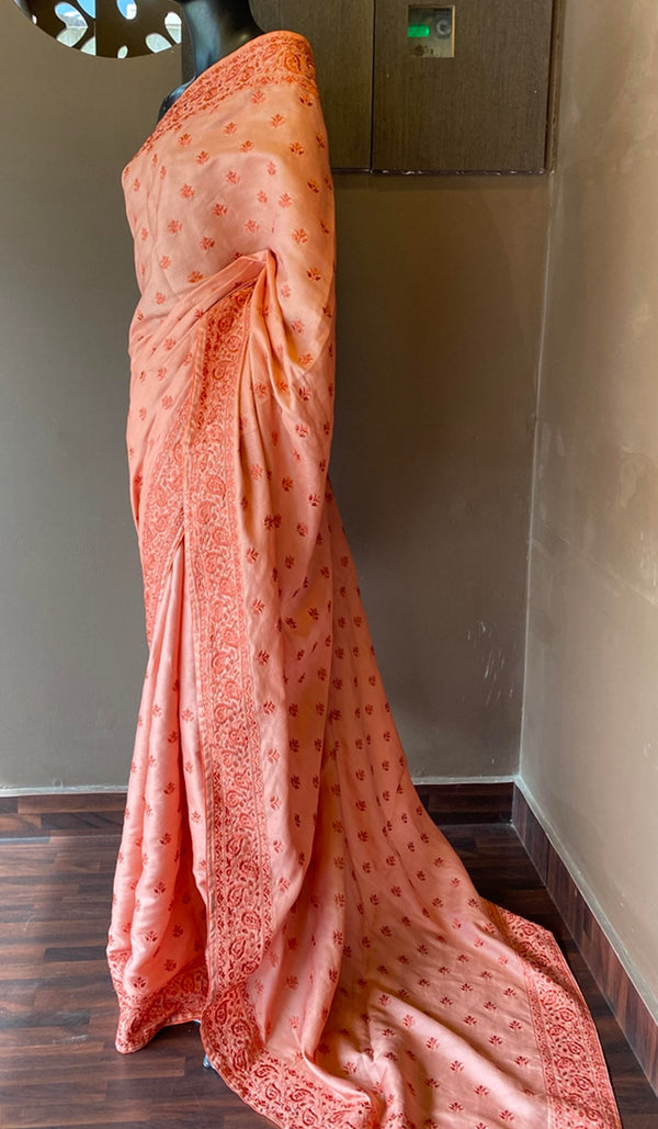 Semi silk saree 13009