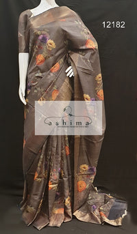 Tussar silk saree 12182