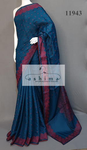 Semi Silk Saree 11943