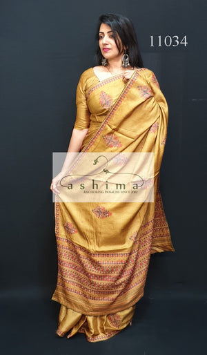 Tussar silk saree 11034