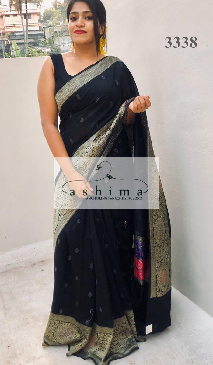 Linen Cotton saree 3338