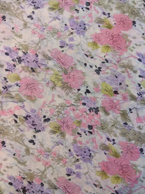 Printed Mull Cotton Fabric 22031823