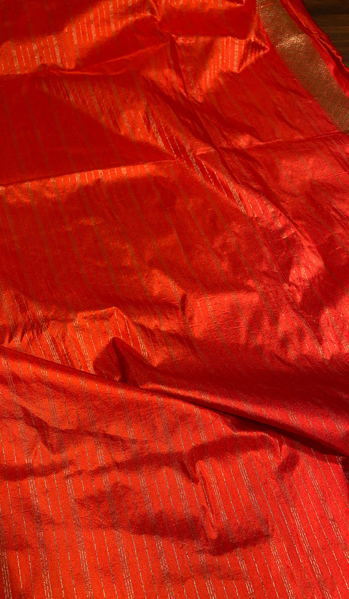 Handwoven banarasi brocade saree   13083