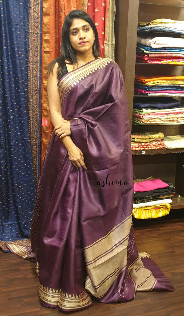 Tussar silk saree 12659