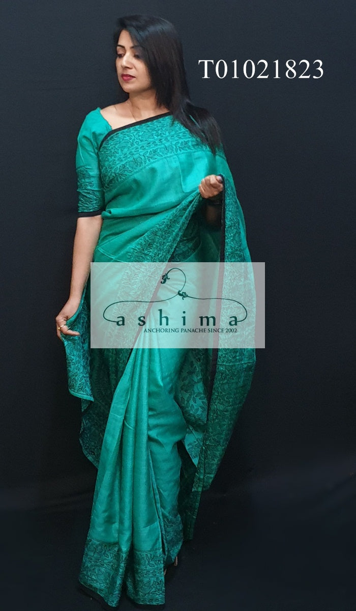 Tussar Silk Saree T01021823