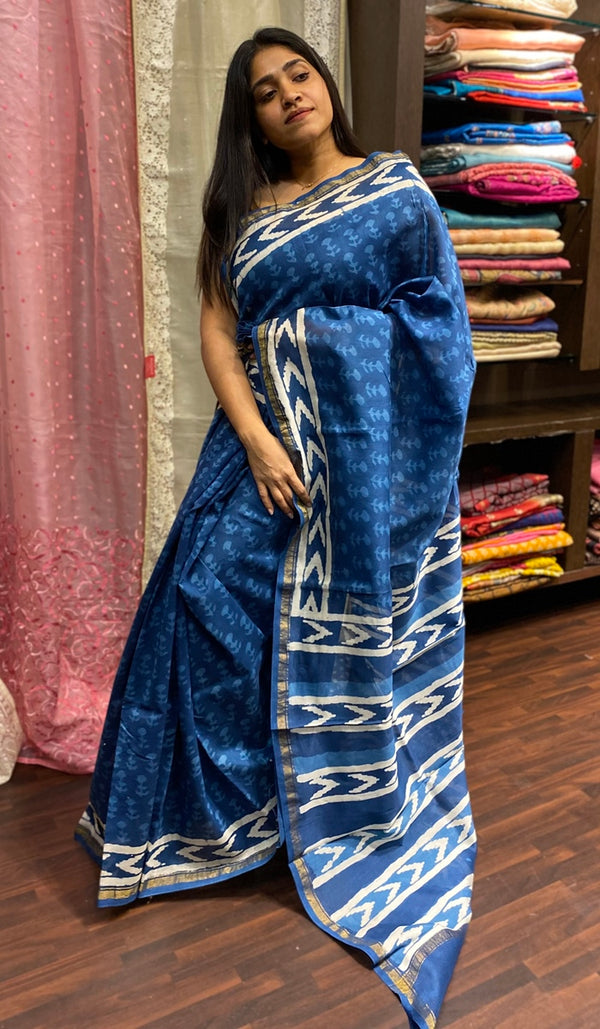Chanderi saree 14270