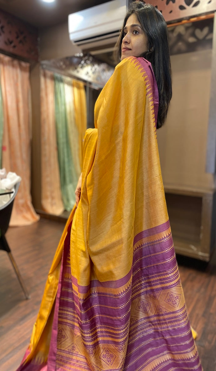 Tussar silk saree 11607