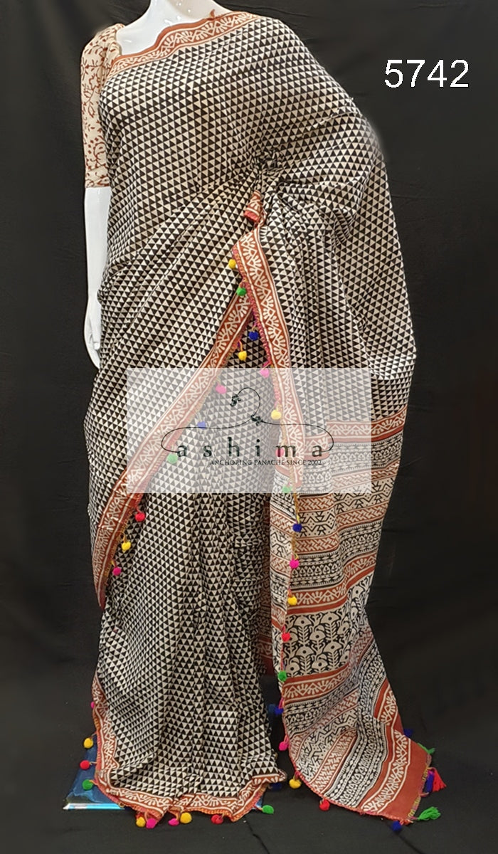 Cotton Saree 5742