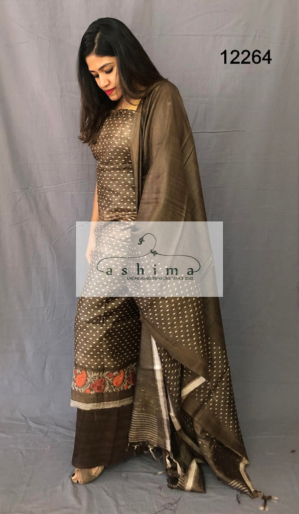 Moonga unstitched salwar suit 12264