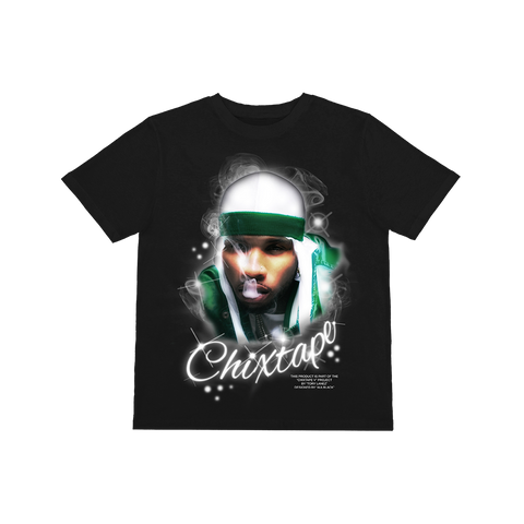 Black Airbrush Tory T-Shirt