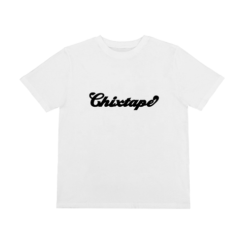 Black Chixtape White T-Shirt