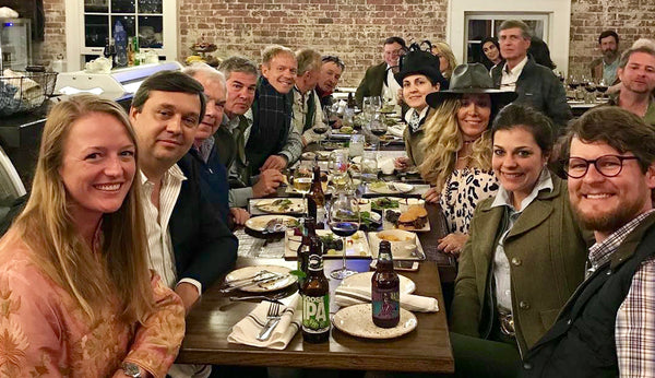 2017 Kevin's Game Fair Dinner with Friends