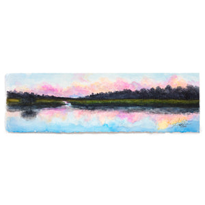 Charleston Low Country Sunset Landscape