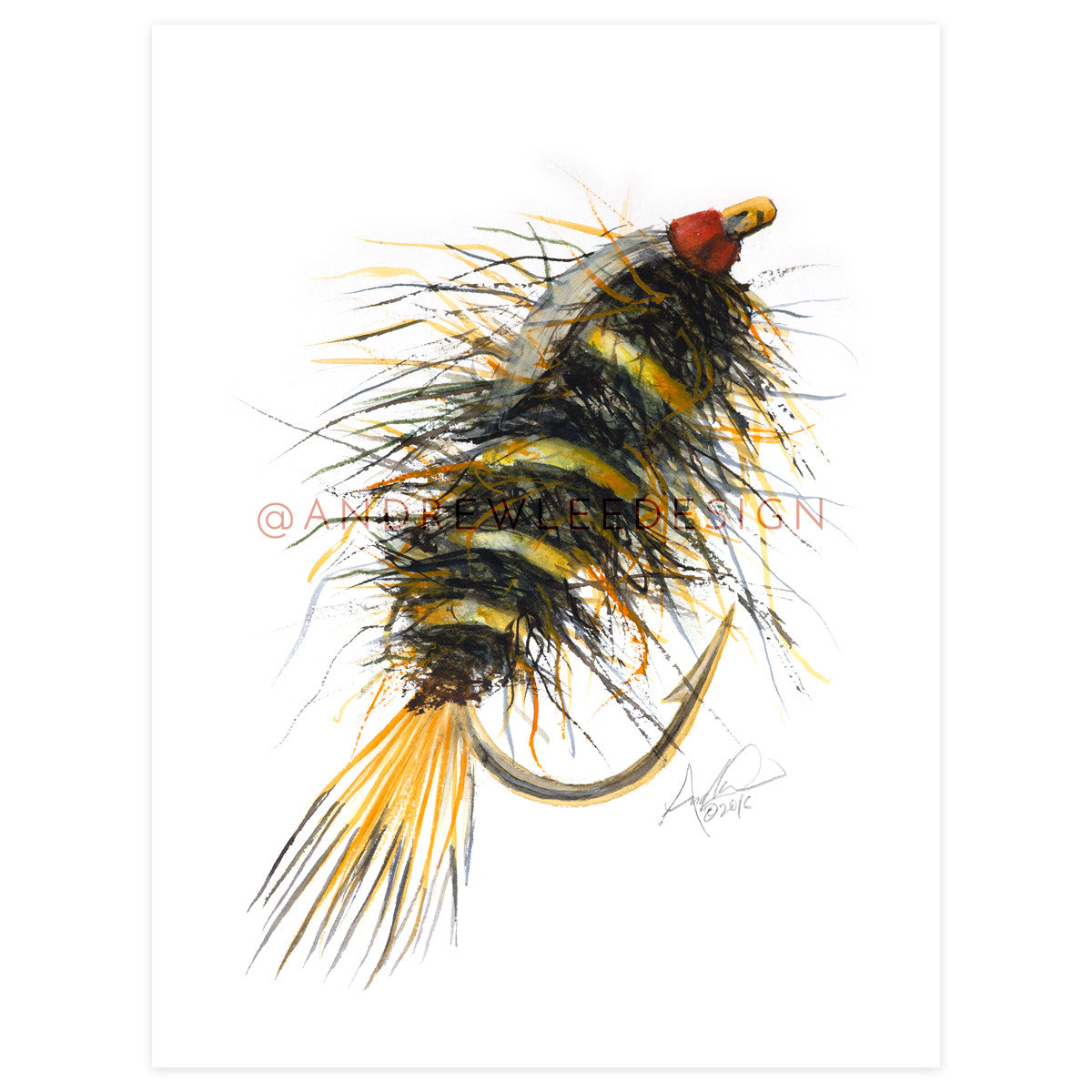 Fly Adams Pattern Andrew Lee Design