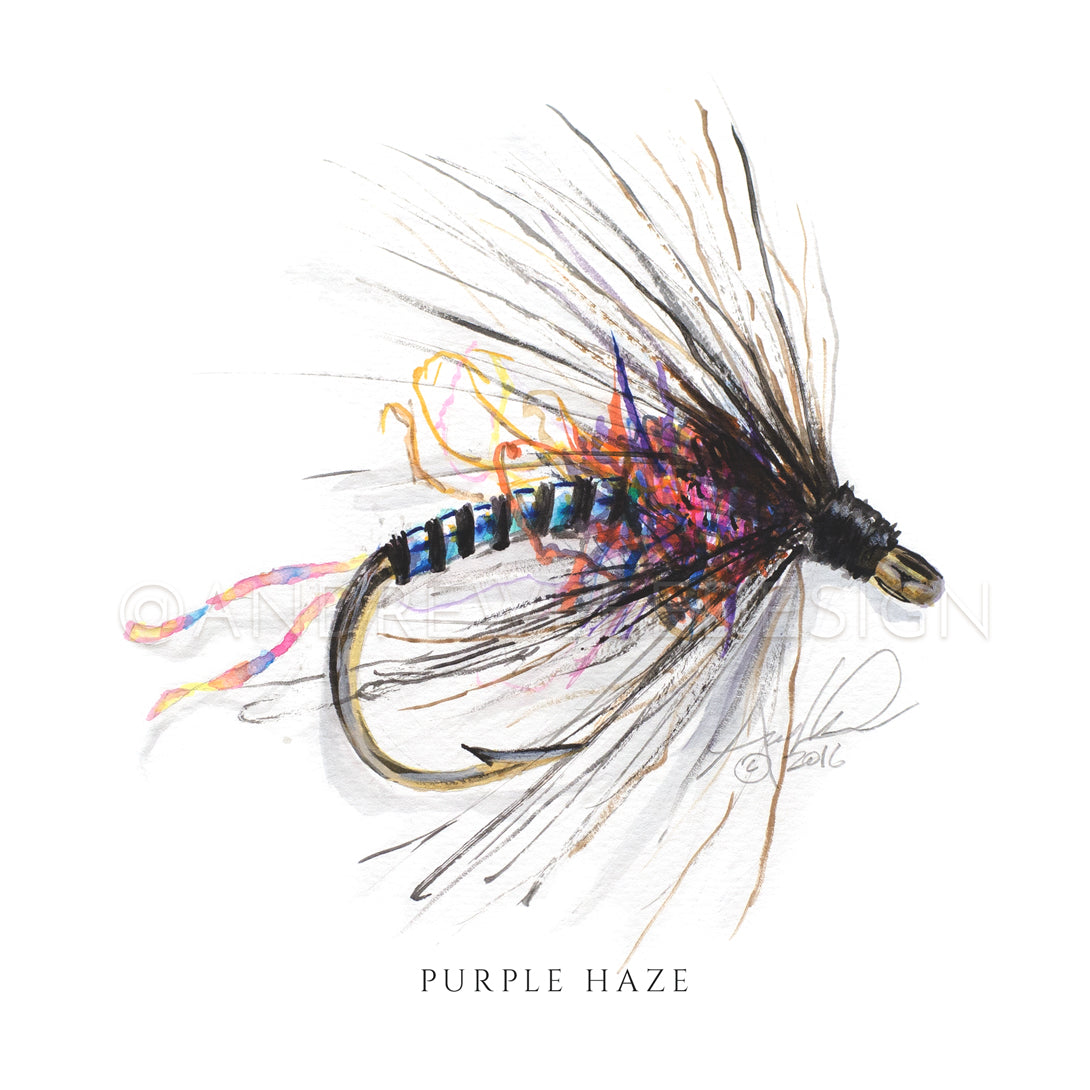 Fly - Purple Haze Pattern