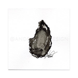 Oyster #19, 6x6""