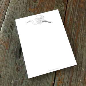 Note Pad, Great White Egret