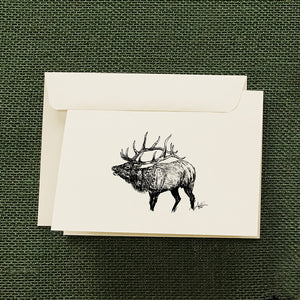 Elk Bugling Stationery Set