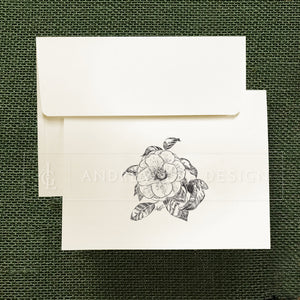 Camellia Stationery Set