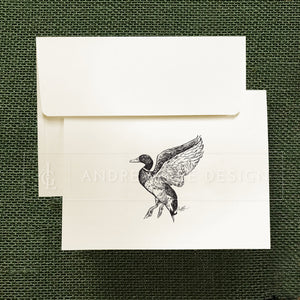 Mallard Duck Stationery Set