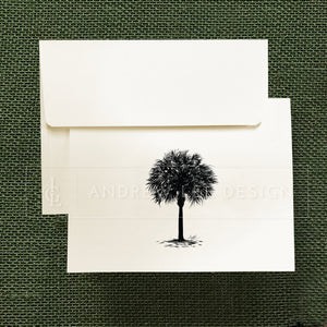 Palmetto Stationery Set