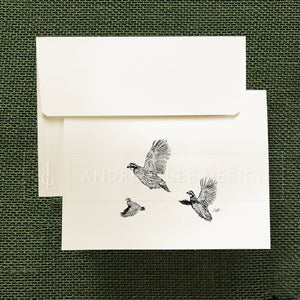 Bobwhite Quail Stationery Set