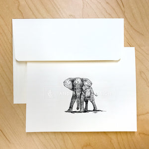 Elephant, Team Collection Stationery Set