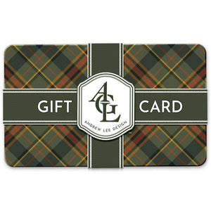 Andrew Lee Design Gift Card