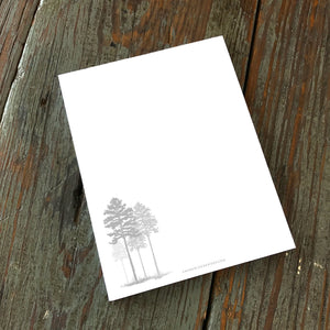 Note Pad, Longleaf Pines