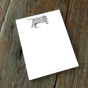 Note Pad, Tiger