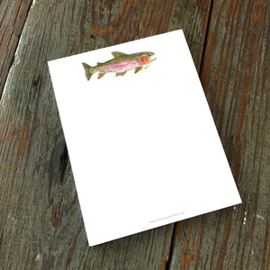 Note Pad, Rainbow Trout
