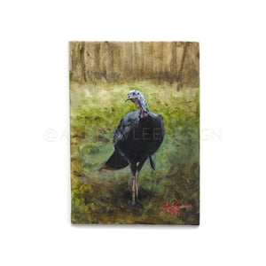 Lowndes County Gobbler Study 02, 5x7""