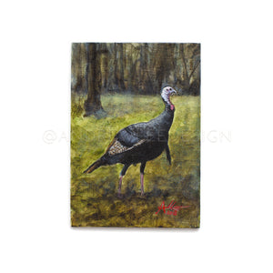 Lowndes County Gobbler Study 03, 5x7""