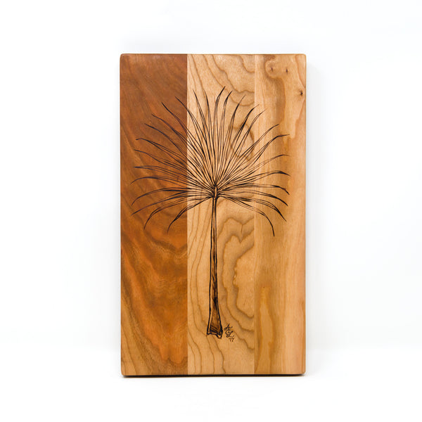 Palmetto Serving/Cutting Board, Custom Handmade