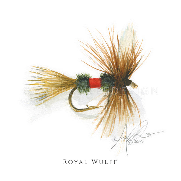 Fly - Royal Wulff Pattern