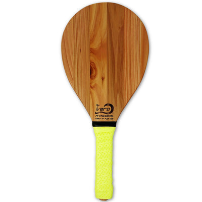 Cedar Solid Wood Frescobol Beach Paddle