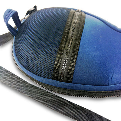 Frescobol Dark Blue Neoprene Premium Paddle & Ball Case